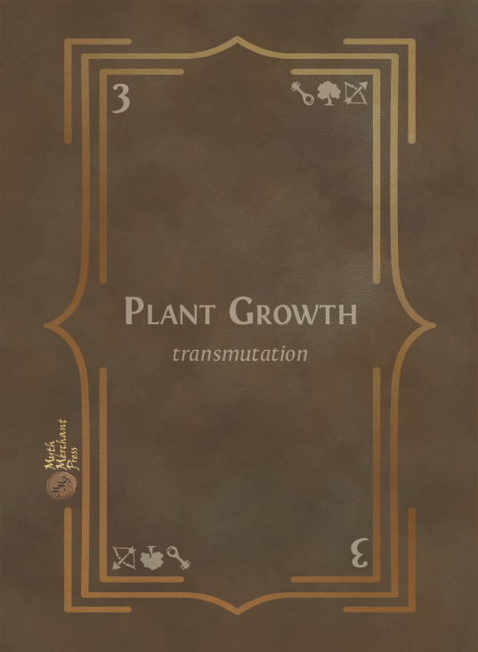Plant Growth Back